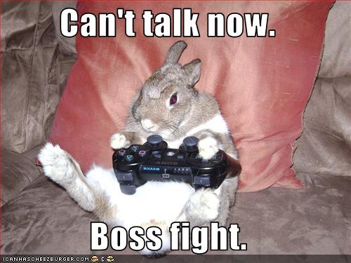 Video game rabbit
