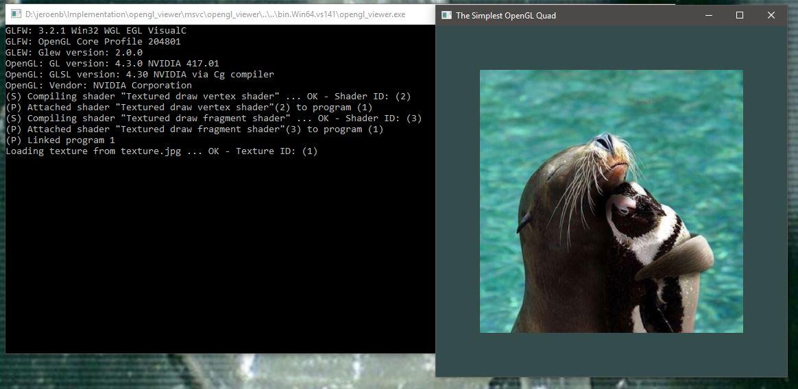 Visual Studio 2017 OpenGL Project – Jeroen Baert's Blog